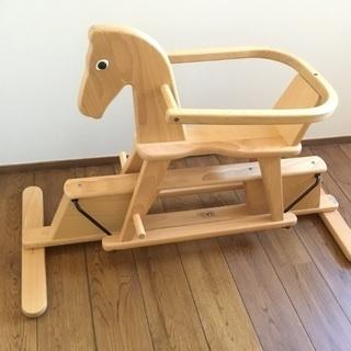 ドイツ Geuther ゴイター スウィング木馬 こども用乗り物...