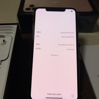 【未使用】iPhone11ProMax512GB GOLD 盗難...