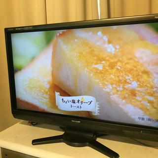 シャープSHARPアクオス40インチフルハイビジョン液晶テレビ