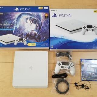 【美品】PS4 MONSTER HUNTER WORLD ICE...