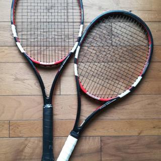 硬式テニスラケット バボラピュアコントロール2本値下げ交渉可!