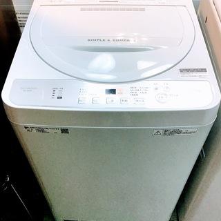 【送料無料・設置無料サービス有り】洗濯機 2018年製 SHAR...