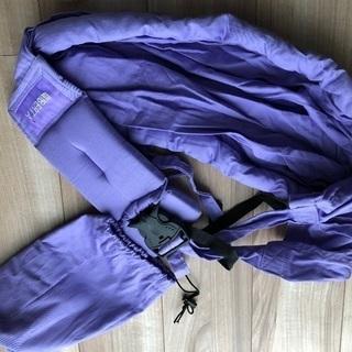 ベビースリング 薄紫色