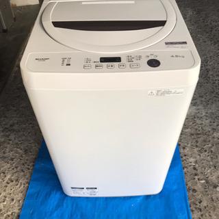 ☆取引中☆ シャープ 全自動洗濯機 ステンレス槽 4.5kg ホ...
