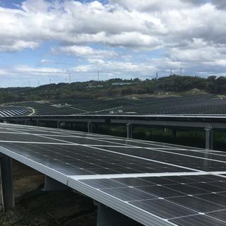 再生可能エネルギー(太陽光発電所)の保守、管理業務。正社員大募集!