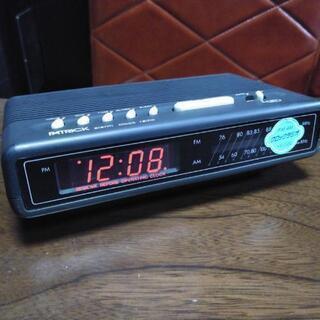 【激レア】昭和レトロ クロックラジオ