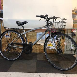 【取引き中 LEDオートライト】街乗りクロスバイク 27インチ