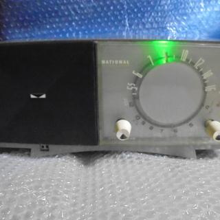 NATIONAL EA-450 真空管パーソナルラジオLED同調指示付