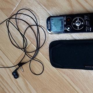 SONY ステレオICレコーダー FMチューナー付 4GB ブラ...