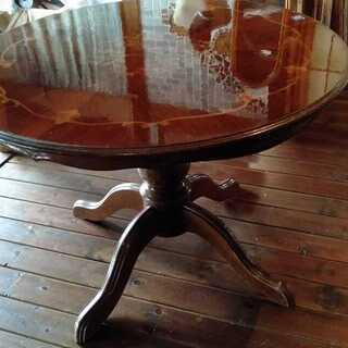 中古大型丸テーブル径1000mm