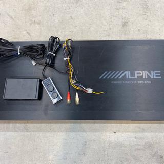ALPINE SWE-2200  サブウーファー