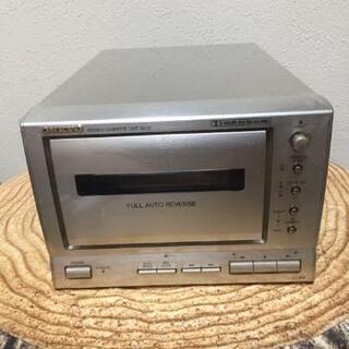 ONKYO カセットテープデェッキ K-185II 動作品