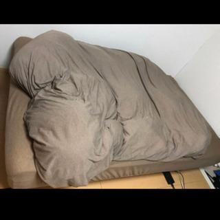 セミダブル 脚付きマットレス  ベッド本体