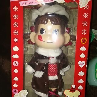 クリスマスペコちゃん人形 未開封
