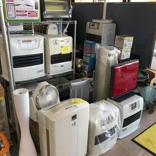 ファンヒーター!! 電子ストーブ!! 加湿器!! 暖房器具セール...