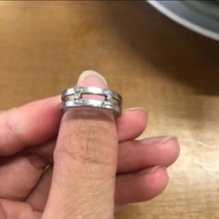 アクセサリー ダイヤモンドプラチナ リング 指輪