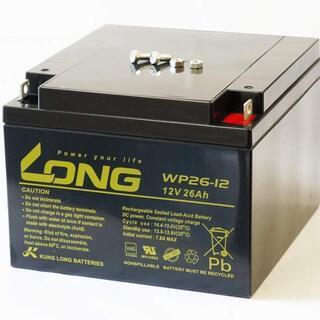 LONG 12V 26Ah 高性能 シールドバッテリー新品