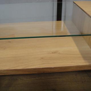 フランフラン  Francfranc ライツ コーヒーテーブル ガルト 大川家具 センターテーブル ガラステーブル 日本製 ローテーブル − 北海道