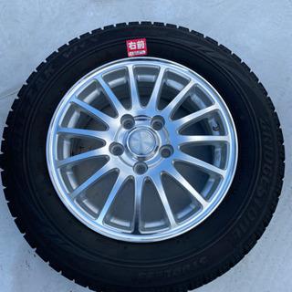 ブリジストン 195/65R15 スタッドレスタイヤ、ホイール4...