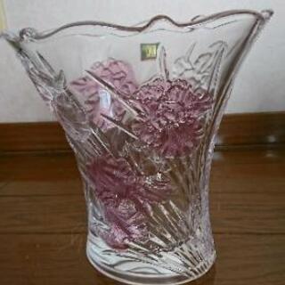 HOYAクリスタル花瓶【未使用】