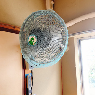 ★決まりました★壁掛け扇風機 ワンコイン500円