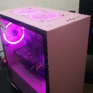 ピンクが可愛いゲーミングパソコン