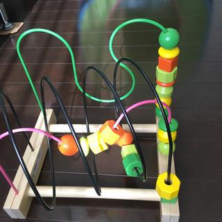 【IKEA(イケア)】 おもちゃ 型はめパズル&知育玩具 2点セット
