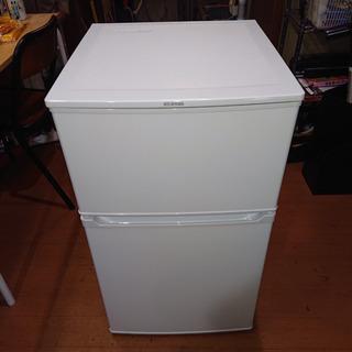 #3237 アイリスオーヤマ 冷蔵庫 IRR-A09TW-W 2...