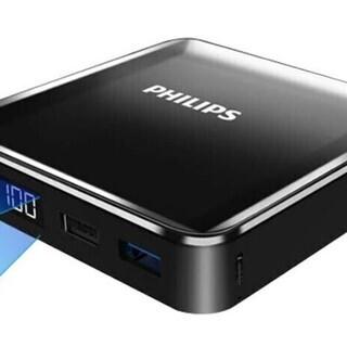 【新品・未使用】PHILIPS モバイルバッテリー 20000m...