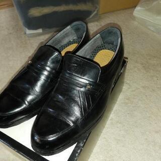 メンズ 革靴26EE