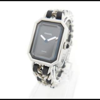 良品 CHANEL シャネル プルミエール M 腕時計 シルバー SS