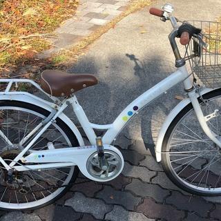 子供用自転車 24インチ 自動ライト