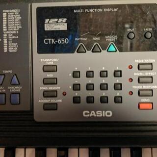 カシオ CTK-650 お譲りします