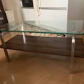 ☆交渉中☆【あげます】お洒落なガラステーブル