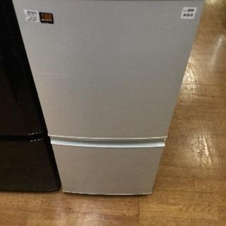 6ヶ月保証 SHARP 2ドア冷蔵庫