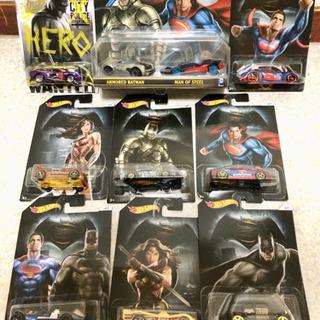 ホットウィール スーパーマン/バットマン/ワンダーウーマン