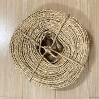 藁のロープ(国産・荒縄)
