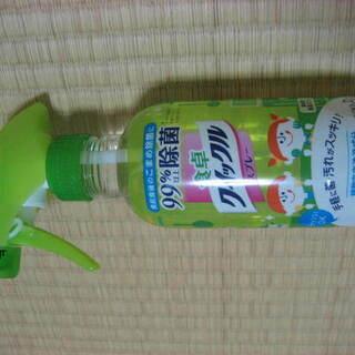9月末まで◆食卓クイックルスプレー  ほのかな緑茶の香り 新品