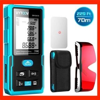 ⬛️レーザー距離計⬛️距離測定器 70m USB充電式 面積/体...