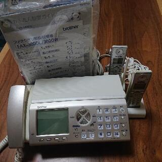 brother ファクシミリ FAX-380DW