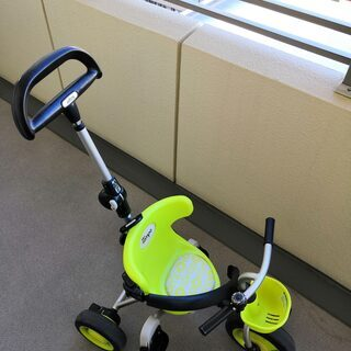 子供 三輪車 アイデス 折りたたみコンポ タウン グリーン