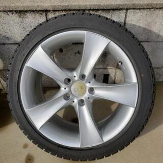 BMW320i用スタッドレス225/45/18ホイールセット