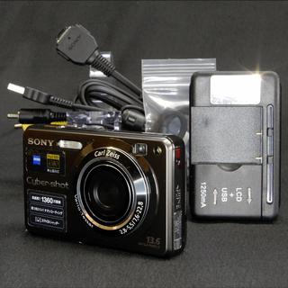 SONY Cyber-shot DSC-W300 1360万画素...