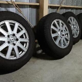 スタッドレスタイヤ タイヤ&ホイールセット 215/65/16 ...