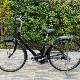 新基準ヤマハ 27インチ パスシティー8段変速 電動自転車 紺色