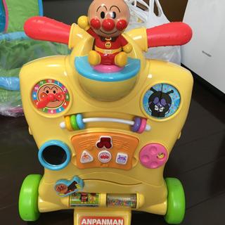 【取引中】アンパンマン  乗って!押して!変身ウォーカー