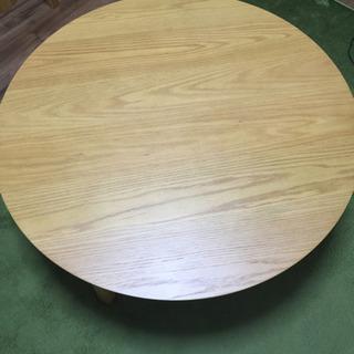 美品 ベルメゾン商品 丸テーブル