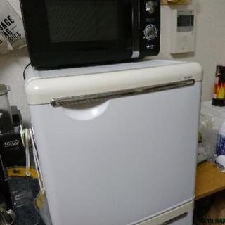【12月21日、22日限定】  家電セット冷蔵庫・電子レンジ