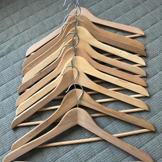 木製ハンガー11本①