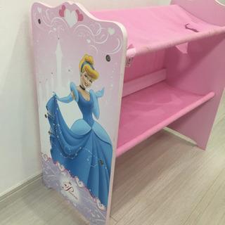プリンセスPrincessおもちゃ棚